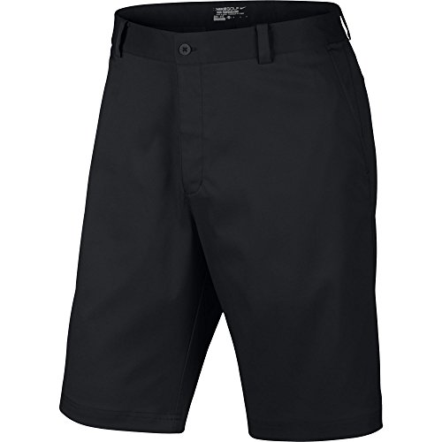 Nike Golf Men's Flat Front Short Black/Black/Black 34 X 11 - Nike Golf Shorts Black