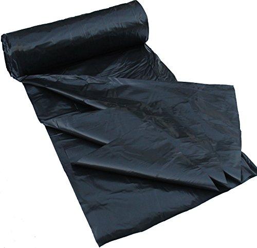 6 Mil Polyethylene Sheeting Roll 20 X 100 Black