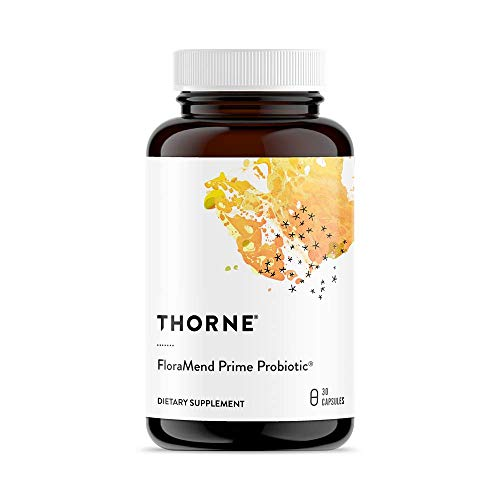 (Thorne Research - FloraMend Prime Probiotic - Shelf-Stable and Stomach Acid-Resistant Probiotic Blend - 30 Capsules )
