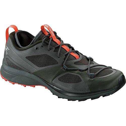 Arcteryx Norvan VT Shoes Men Titan/Maple Schuhgröße 44 2/3 2017 Laufschuhe