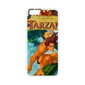 Tarzan iPhone 6 Plus 5.5 Inch Cell Phone Case White xlb-253930