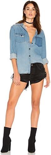 One Teaspoon Blue Jane Southbank Jean Shirt