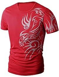 Men's Tee,Neartime Summer Casual Short sleeve T-shirt for Men Sport Clothes