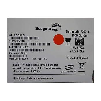 Amazon com: SEAGATE 9JU138-516 1 5TB 7 2K 3 5 SATA 3G 32MB