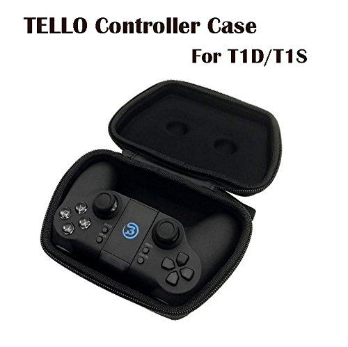 Tineer Transmitter Storage Case Bag for DJI Tello Drone Accessory, Gamesir T1S/T1D Remote Control Gamepad Joystick Carry Case Handbag Transmitter Storage Case Bag