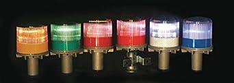 Warning Light, LED, Red, Solar NiMH