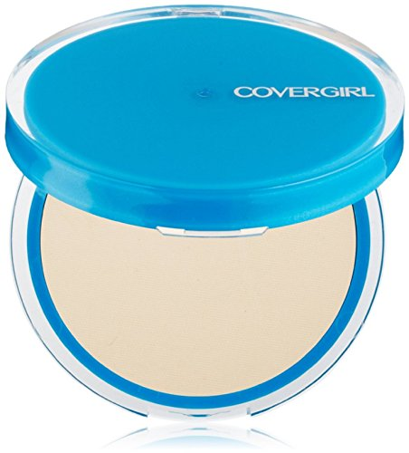 CoverGirl Clean Oil Control Compact Pressed Powder, Classic Ivory [510], 0.35 oz (Pack of 3)