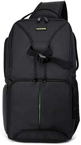 Color : Green Yhuisen Waterproof Shoulder Backpack Padded Shockproof Camera Case Bag Compatible with Nikon
