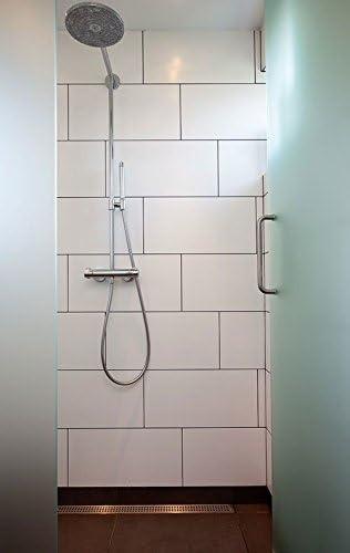 White Porcelain Subway Tile Matte Finish 12 X 24 Box Of 10 Sqft Wall Tile Floor Tile Bathroom Tile Amazon Com
