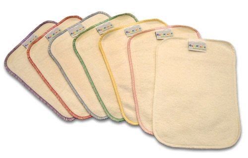 BabyKicks 7 Piece Premium Baby Wipes, Colors May Vary, One Size