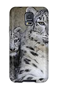 Snow Leopard Pictures Case Compatible With Galaxy S5/ Hot Protection Case