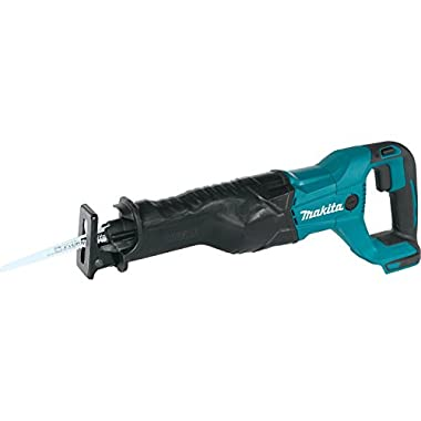 Makita XRJ04Z 18V LXT Lithium-Ion Cordless Reciprocating Saw, Tool Only