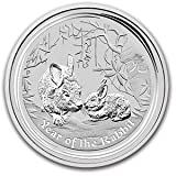 2011 Australian Lunar Series II - Year of the Rabbit (1/2 Ounce Silver Coin)