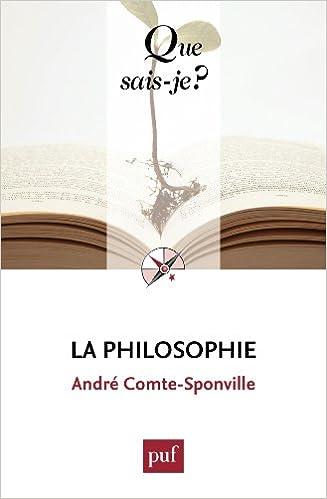La philosophie : « Que sais-je ? » - Comte-Sponville André