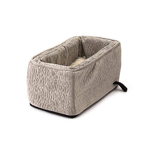 - Snoozer Pet Products - Luxury Console Dog Car Seat with Microfiber - Show Dog Collection | Small - Piston Storm