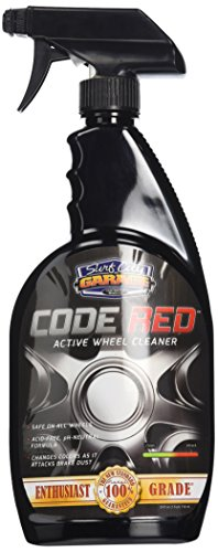 Active Wheel (Surf City Garage 110 Code Red Active Wheel Cleaner, 24 fl. oz.)