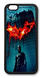 iPhone 6 Plus Case And Cover -Batman Dark Knight TPU Silicone Rubber Case Cover For iPhone 6 Plus 5.5 inch Black