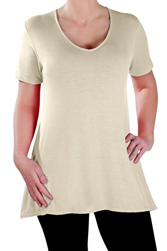 Womens Short Sleeve Ladies Flared product image
