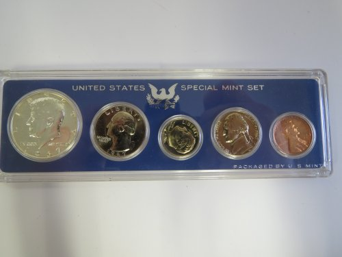 1967 Various Mint Marks Mint Set Perfect Uncirculated