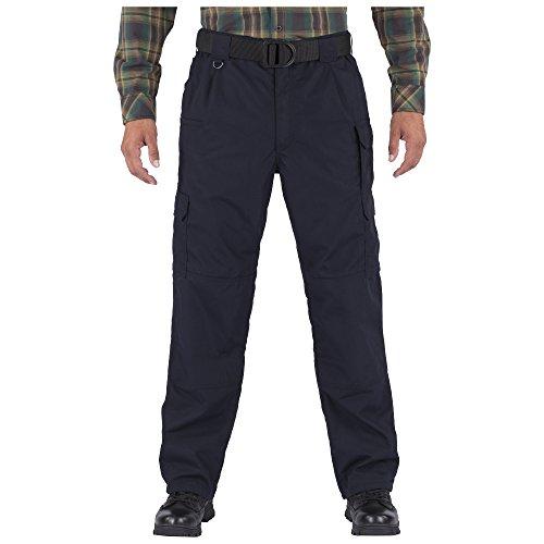 5.11 Men's Taclite Flannel Lined Pants, Dark Navy, 32W-32L -