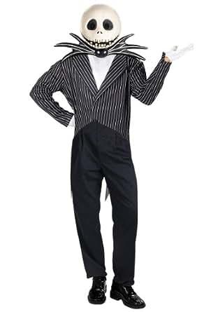 Jack Skellington Deluxe Adult Costume - X-Large