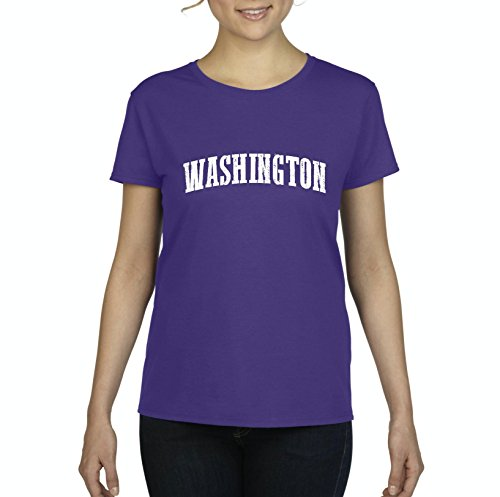 Ugo WA Seattle Map Cougars Redhawks Huskies Home University of Washington Women's T-shirt Tee - Map Village Seattle University