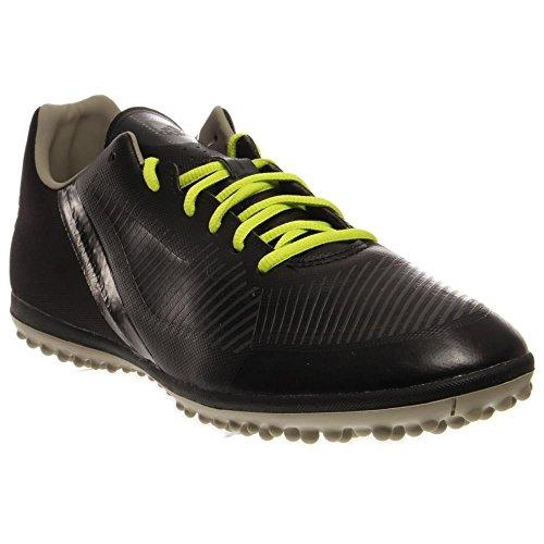 adidas Performance Men's FF Stileiro Turf Shoe, Black/Infrared/Solid Grey, 6.5 M US