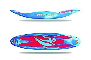 Play 35 Blue Ice Marble Bellyak Play 35 Whitewater Kayaks, Blue Ice Marble by Bellyak, Inc.