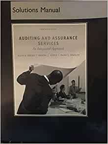 auditing and assurance services solution manual