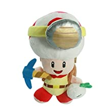 Super Mario Standing Captain Toad soft Plush Stuffed Animals Doll Kids Toys 20 Cm