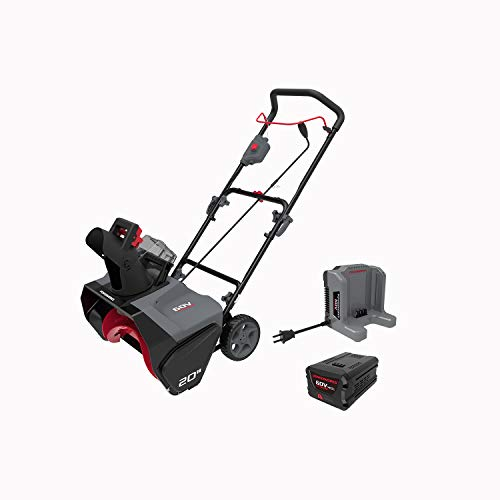 POWERWORKS 20-Inch 60V Brushless Snow Thrower, SN60L410