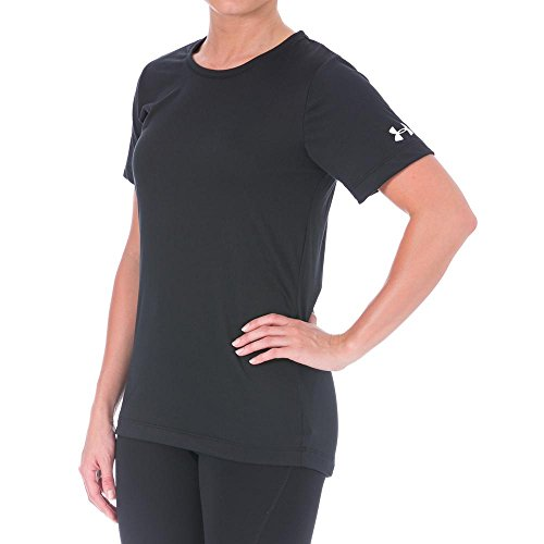 Under Armour Heatgear Tech Womens Short Sleeve T-Shirt - Medium - Black