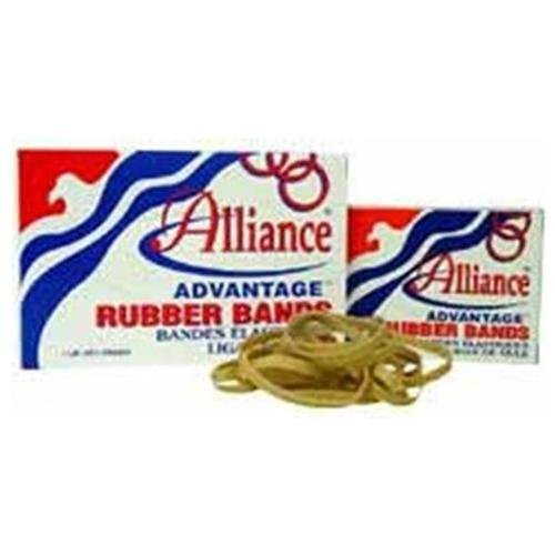 Alliance 26125 Rubber Bands, Size 12, 1 lb., 1-3/4 in.x1/16 in., Natural by Alliance (Alliance Rubber 16 Inch Rubber Band)