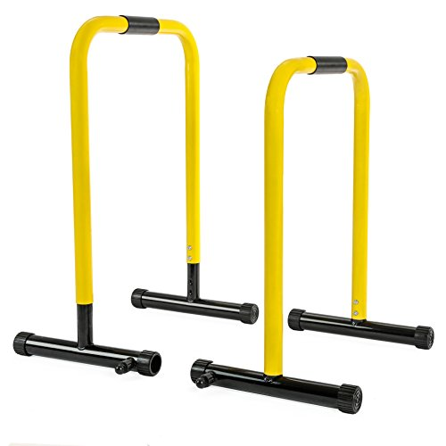RELIFE REBUILD YOUR LIFE Dip Station Functional Heavy Duty Dip Stands Fitness Workout Dip bar Station Stabilizer Parallette Push Up Stand by RELIFE REBUILD YOUR LIFE (Image #6)