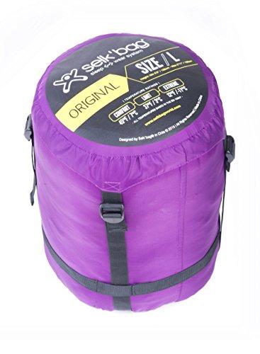 Selk'bag 5G Wearable Sleeping Bag: Haze, Medium