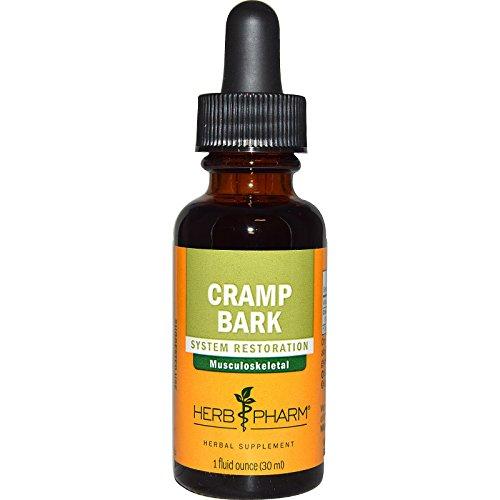 Bark 1 Ounce Herb (Herb Pharm, Cramp Bark, 1 fl oz (30 ml) - 2pc)
