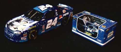 1999 Revell Collection Jeff Gordon #24 Star Wars / Pepsi 1:24 & 1:64 Scale Bank Set S ()