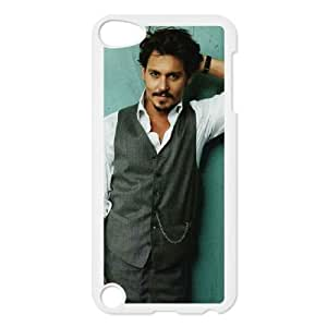 handsome johnny depp iPod Touch 5 Case White xlb2-106308