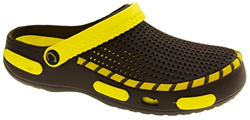 Coolers Mens Beach Clog Sandals Yellow 11 D(M) US by Coolers (Image #1)