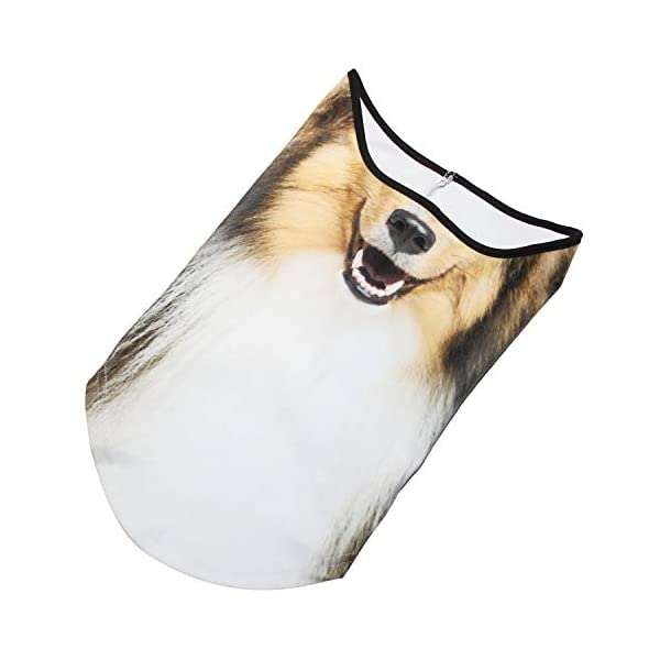 AXBXCX 3D Animal Neck Gaiter Warmer Windproof Face Mask Scarf for Ski Halloween Costume 5