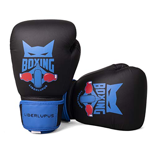 Liberlupus Kids Boxing Gloves, Training Boxing Gloves for Kids Age 3-15, Protective Youth Boxing Gloves with Multiple Color & Size