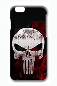 iPhone 6 plus Case, 6 plus Case - Stylish Design Thin 3D Print Case for iPhone 6 plus The Punisher Protective Hard Back Case for iPhone 6 plus 5.5 Inches