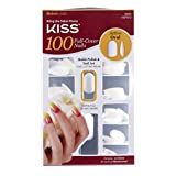 Kiss 100 Nails-Active Oval, 1-Count