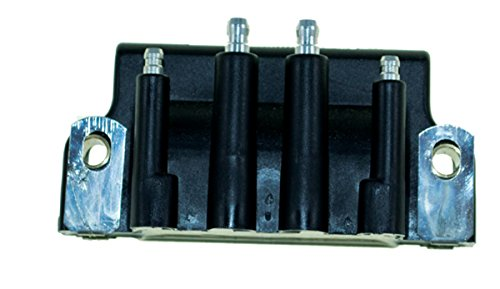 (Johnson Evinrude Dual Output Ignition Coil 50 Hp 1997 - 1999 Model Elect Start 2 Cyl WSM 183-3740 OEM# 18-5170, 583740, 879614)