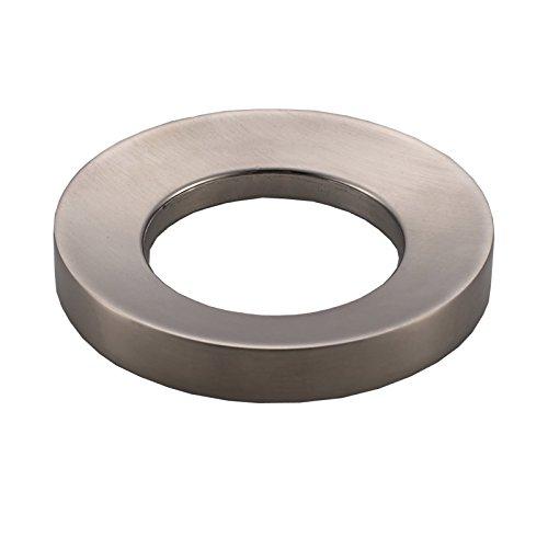 Votamuta Mounting Ring for Vessel Sinks,Brushed Nickel (Brushed Niclel)