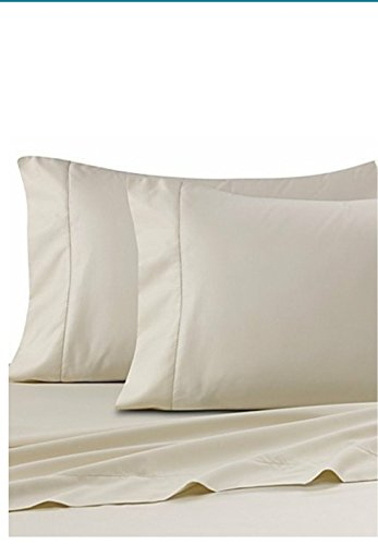 Ultra SOFT Sateen Pima Cotton 525 thread count (TWIN/IVORY)