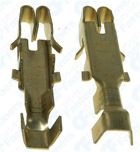 25 GM Pack-Con III Series Terminals 16-14 Gauge Female by Clipsandfasteners Inc (Image #1)