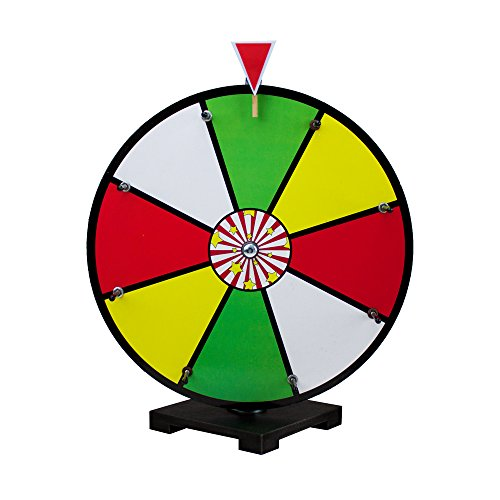 16 Inch Color Dry Erase Prize Wheel By Midway (Dry Erase Prize Wheel)