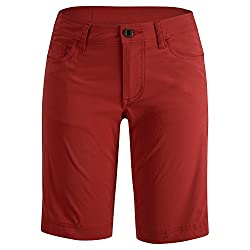 BLACK DIAMOND Women's Creek Shorts, 11 in. Maroon Red 10/R