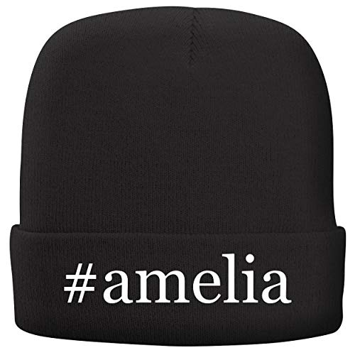 BH Cool Designs #Amelia - Adult Hashtag Comfortable Fleece Lined Beanie, Black